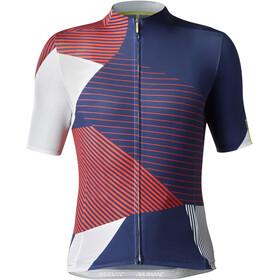 Mavic Allure Ltd Jersey Men White/Red/Blue